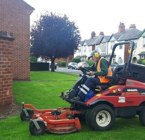 Wates Grass Cutting Nov 2017