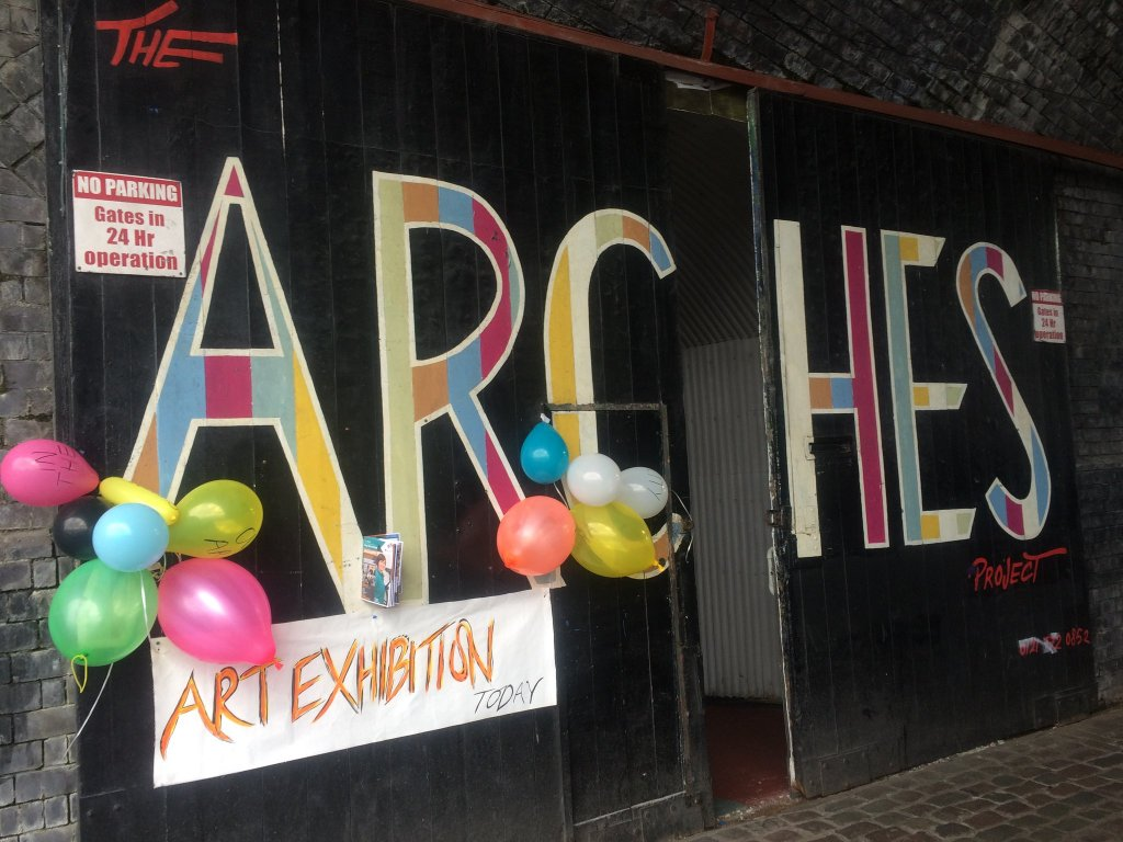 The Arches exterior Digbeth