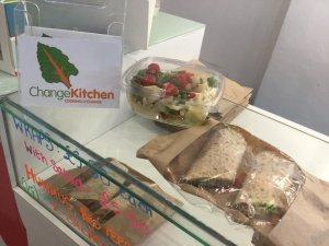 Change Kitchen vegan lunch