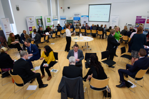 Social enterprise and construction networking event at Signing T