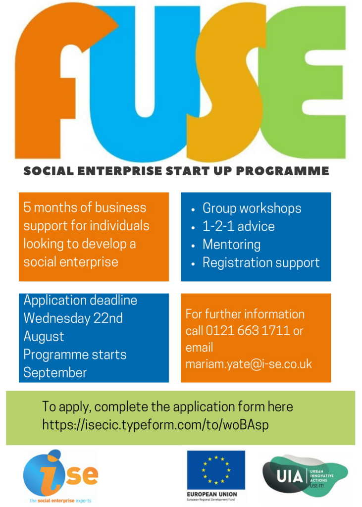 FUSE Social Enterprise Start-up
