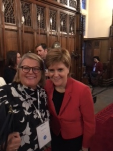 Sarah Crawley meets Nicola Sturgeon, First Minister of Scotland.