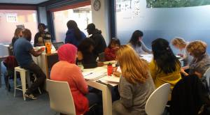 A FUSE session taking place at iSE, Digbeth.