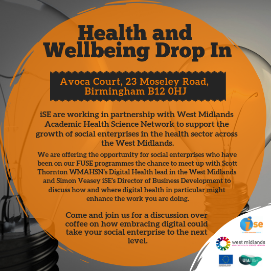 Health and well-being drop-in