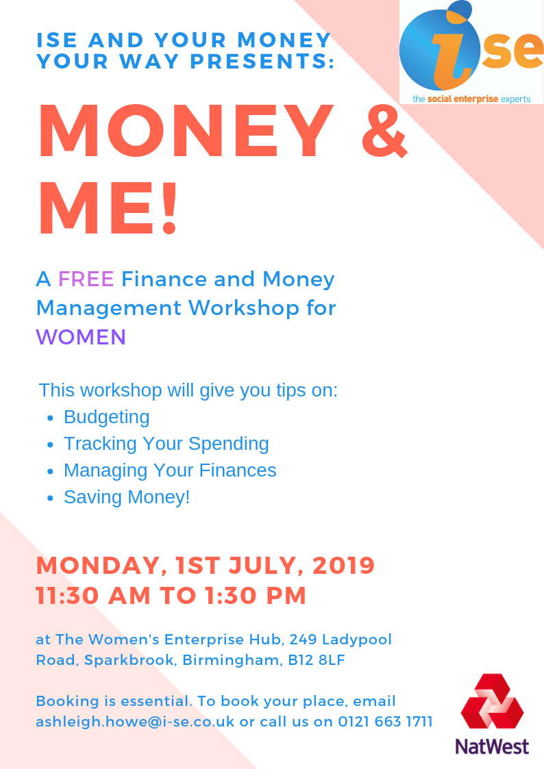 Money and Me workshop