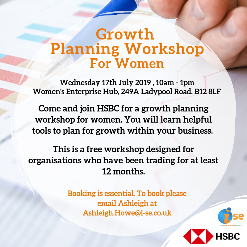 Growth Planning Workshop HSBC