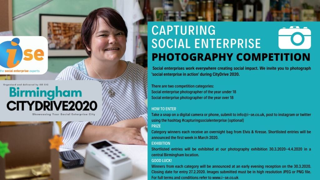 Social Enterprise Photography Competition Flyer