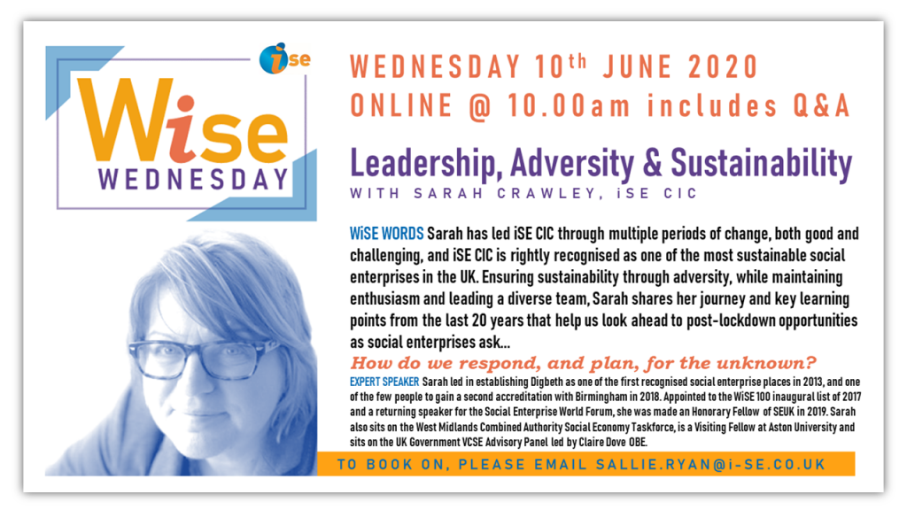 iSE WiSE Wednesday LEADERSHIP ADVERSITY 100620 border