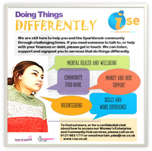 Lottery DOING THINGS DIFFERENTLY Flyer Aug 2020 border